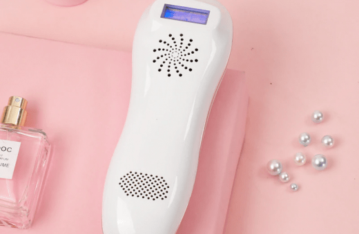 Homiley offers DIY laser hair removal