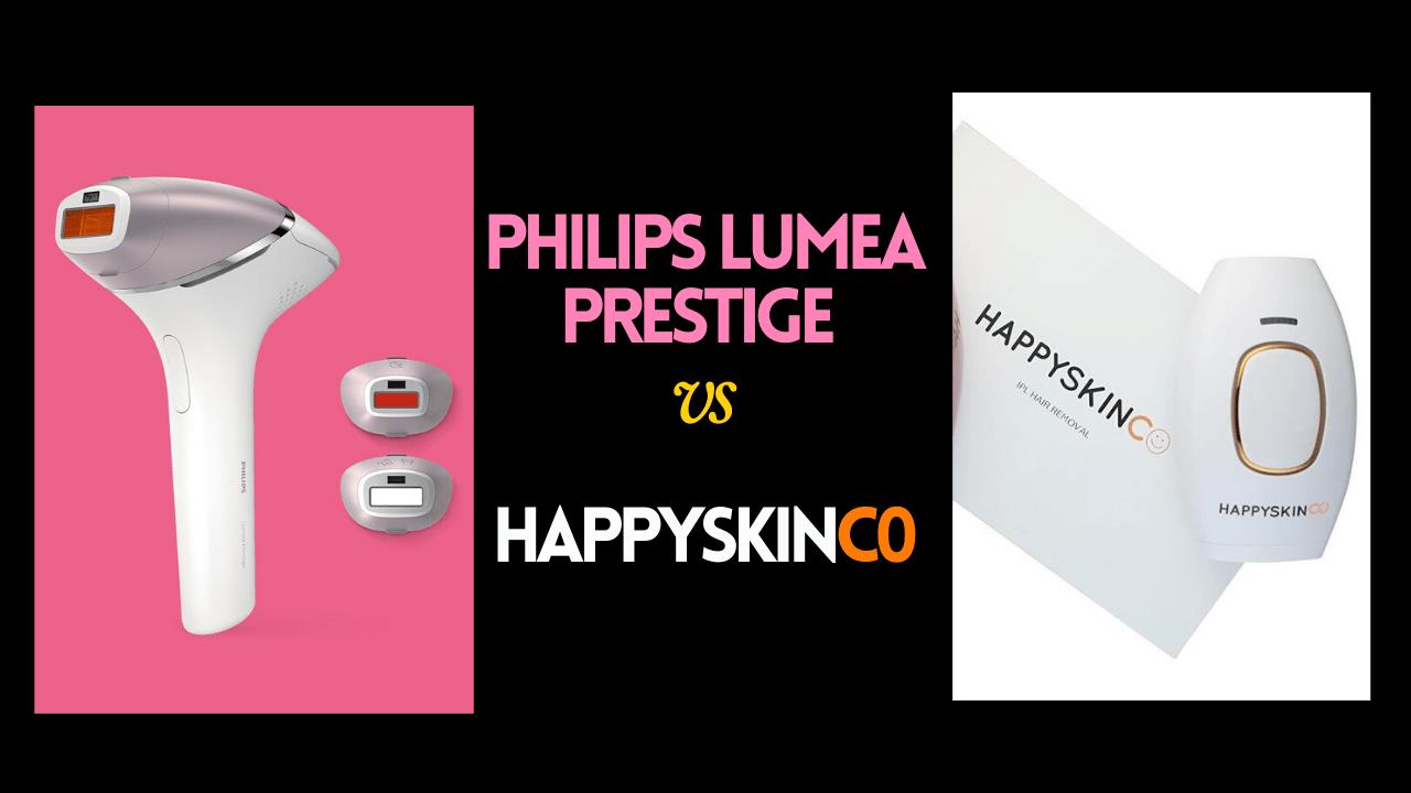 HappySkinCo Vs. Philips Lumea Prestige