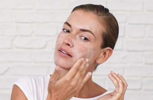 Skin Exfoliation Scrub