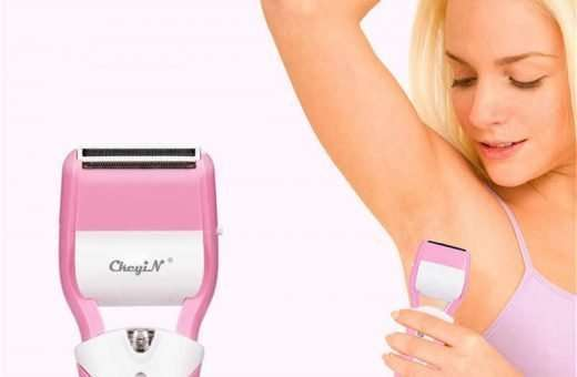 remove armpit hair with epilitor