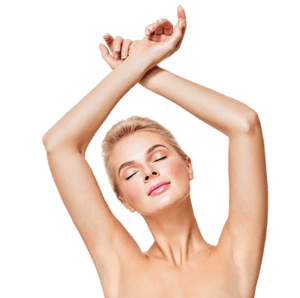 under arm hair removal
