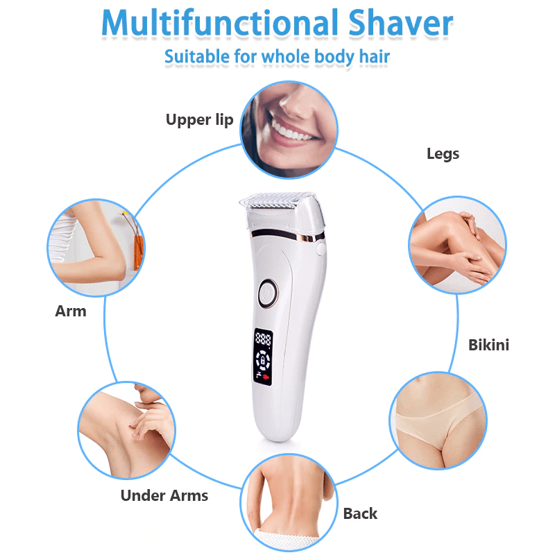 Best Lady Shaver for Face, Legs, and pubic area