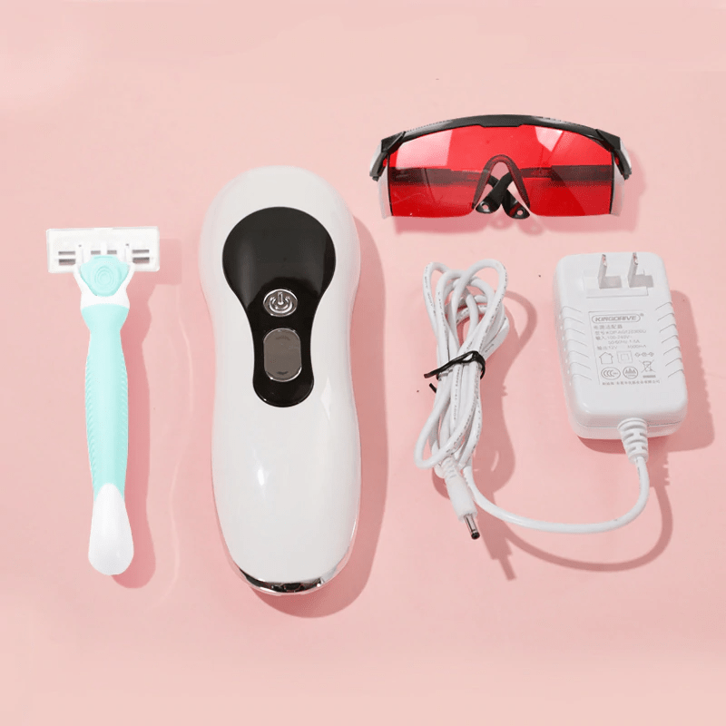 homiley ipl laser hair removal handset