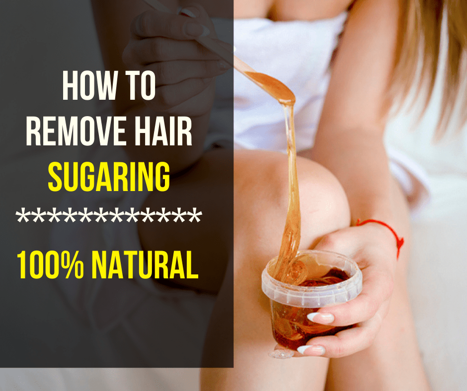 How to Remove Hair Sugaring - 100% Instant removal