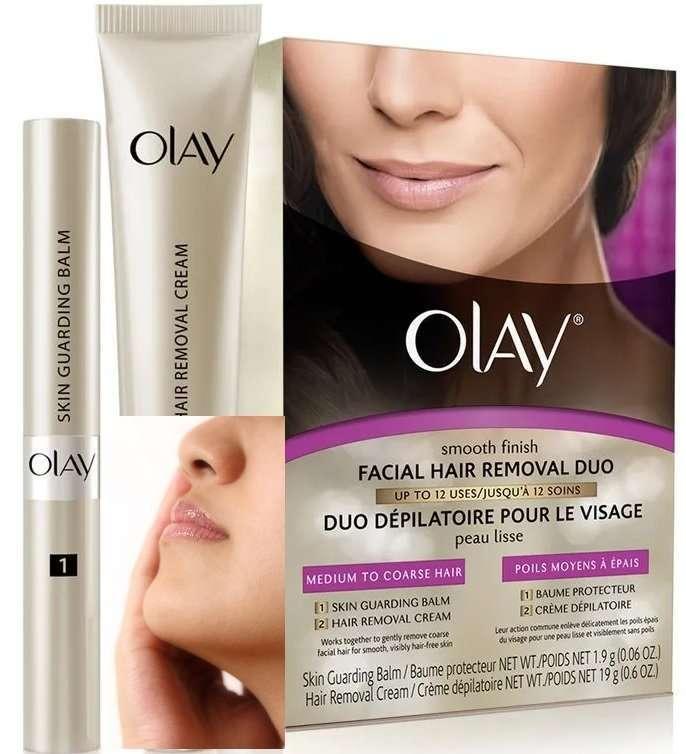 Olay Hair Removal Cream Duo Medium to Coarse Hair Kit