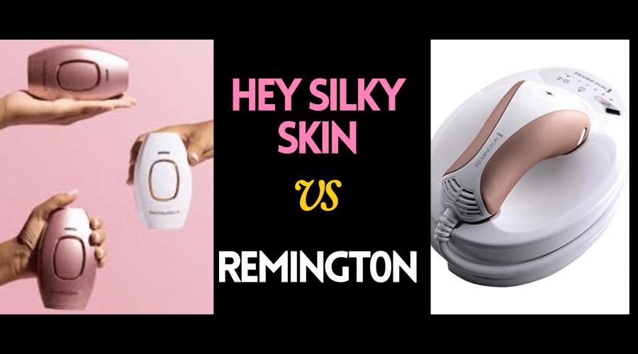 BrandComparison Ilight essential vs. Hey Silky Skin Reviews