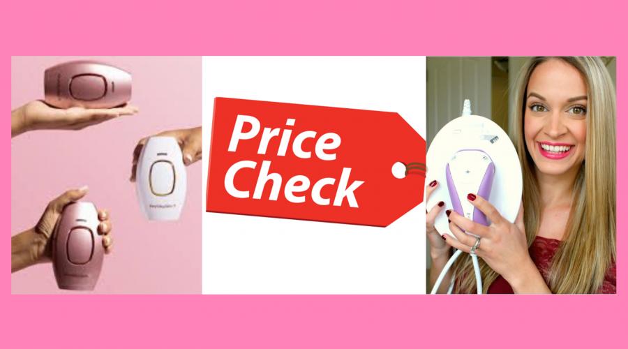 Price:RemingtonVs. Hey Silky Skin Laser Hair Removal