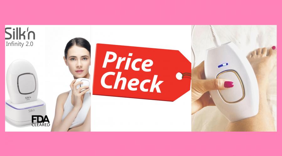 Prices:Silk'n Infinity Vs. Lux Skin Reviews