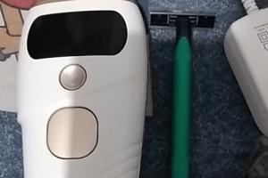 ipl laser hair removal handset